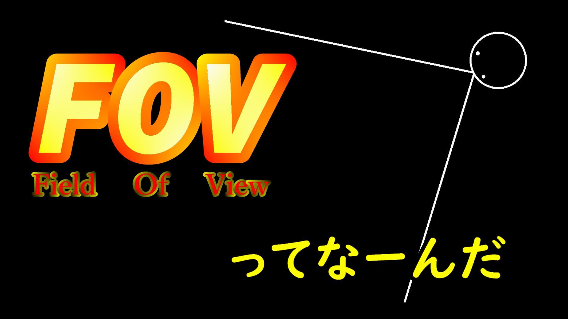 FOVの意味とは-低FOVと高FOVのメリットデメリット-【FPS基礎知識】